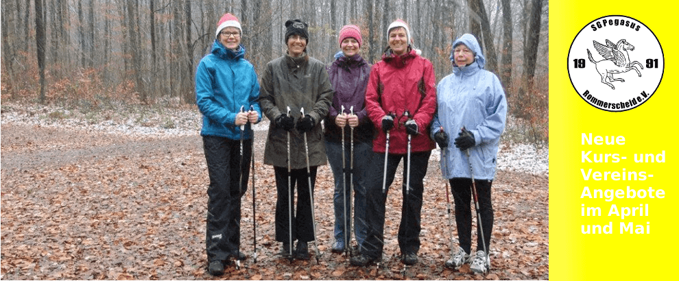 Neuer Nordic Walking Kurs