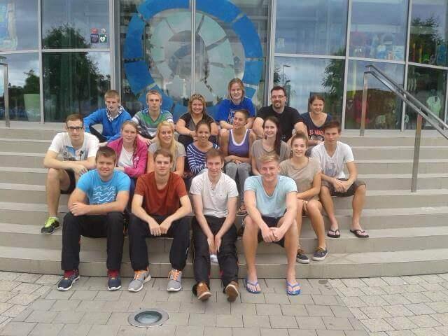 Gruppenfoto-Aqualand
