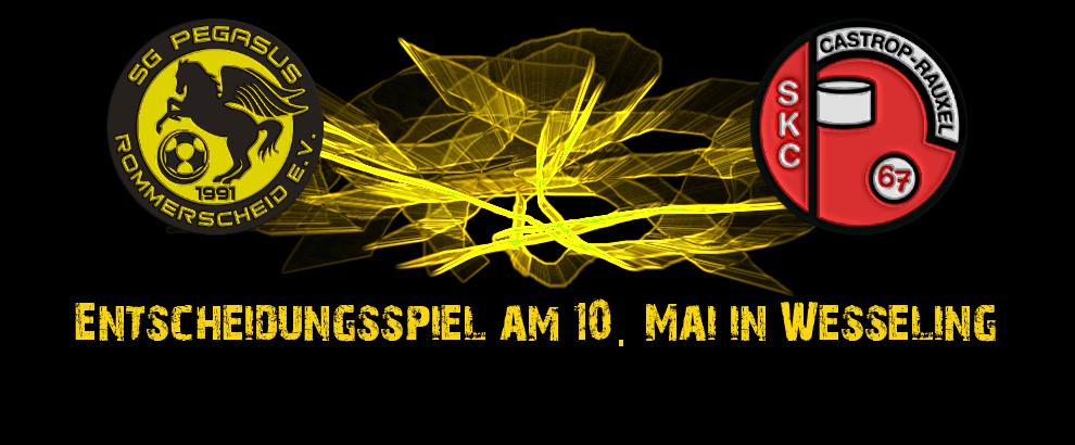 Entscheidungsspiel am 10.Mai in Wesseling