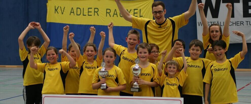 D1 darf als RTB-Meister zum Deutschen Jugend Cup