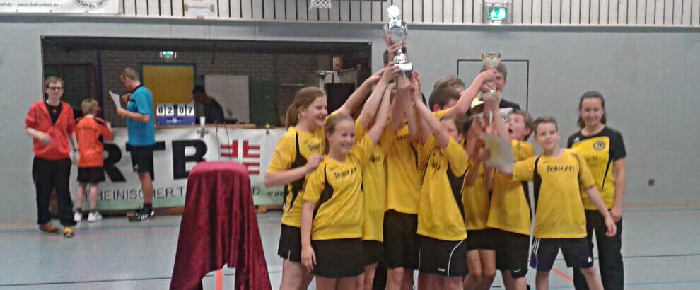 D-Jugend gewinnt den Deutschen Jugend Cup