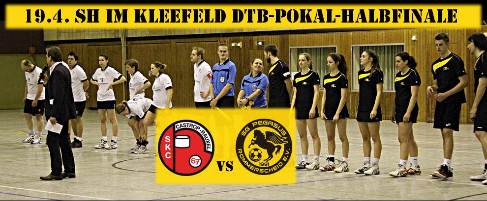 DTB-Pokal-Halbfinale: Korfball-Klassiker Pegasus gegen Schweriner KC