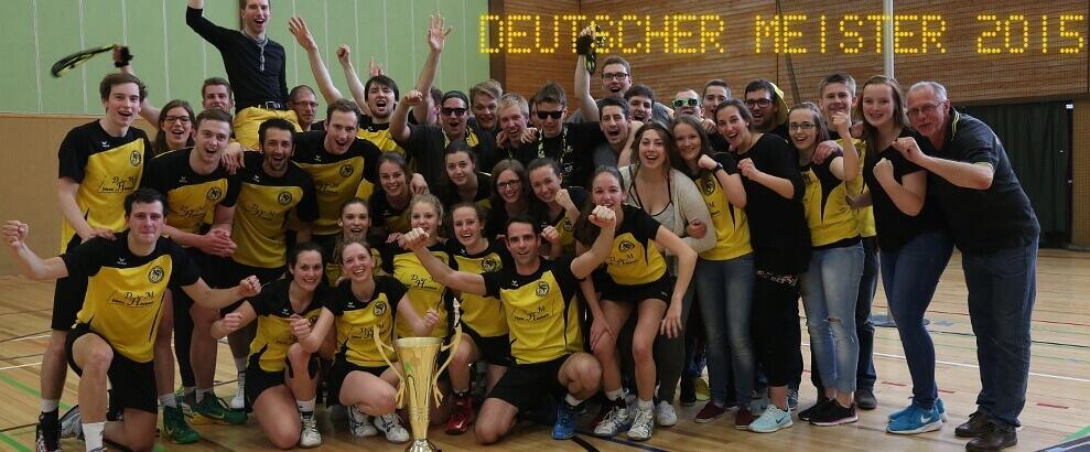 Wir sind Deutscher Meister 2015!