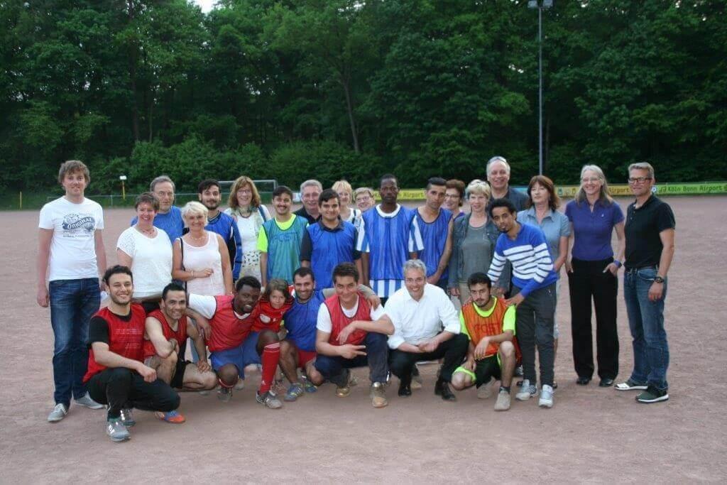 "Dritter Stammtisch ""Integration durch Sport"""