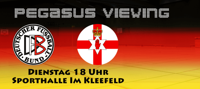 Pegasus Viewing: Deutschland – Nordirland