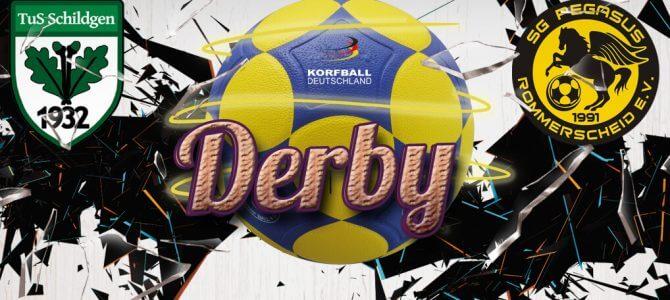 Korfball-Derby: Schildgen – Pegasus am Samstagabend