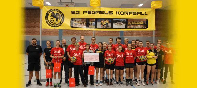 Kreissparkasse Köln unterstützt die SG Pegasus großzügig
