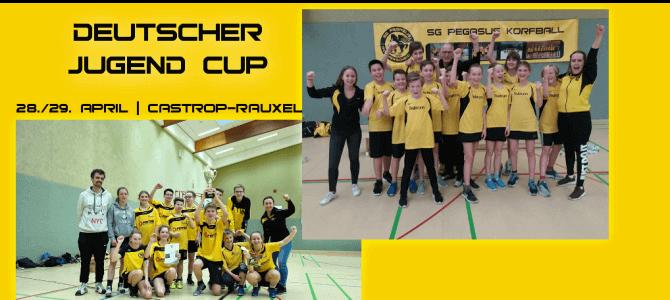 Unsere Teams spielen um den Deutschen Jugend Cup
