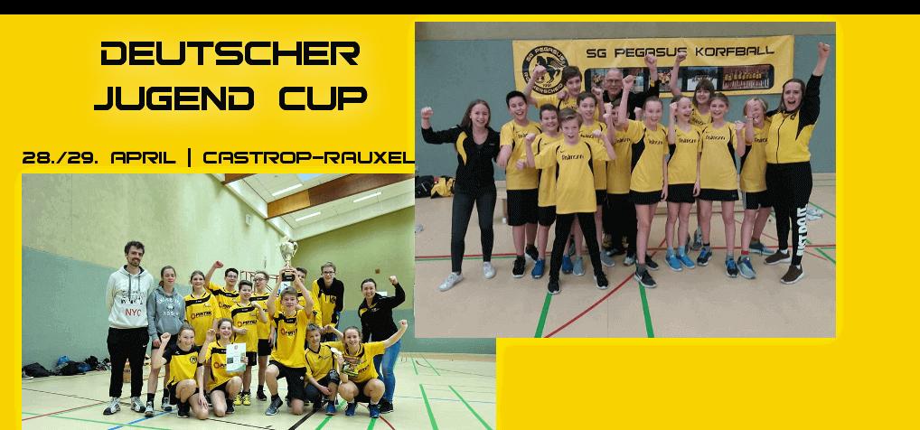 Die Pegasus D-Jugend und C-Jugend jubeln über die Meisterschaft im Rheinischen Turnerbund (RTB)