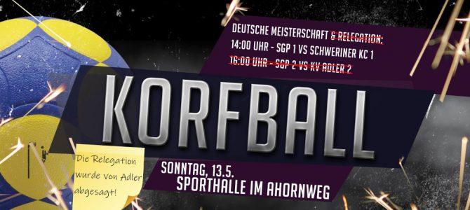 Deutsche Meisterschaft: Finale steigt am 13. Mai