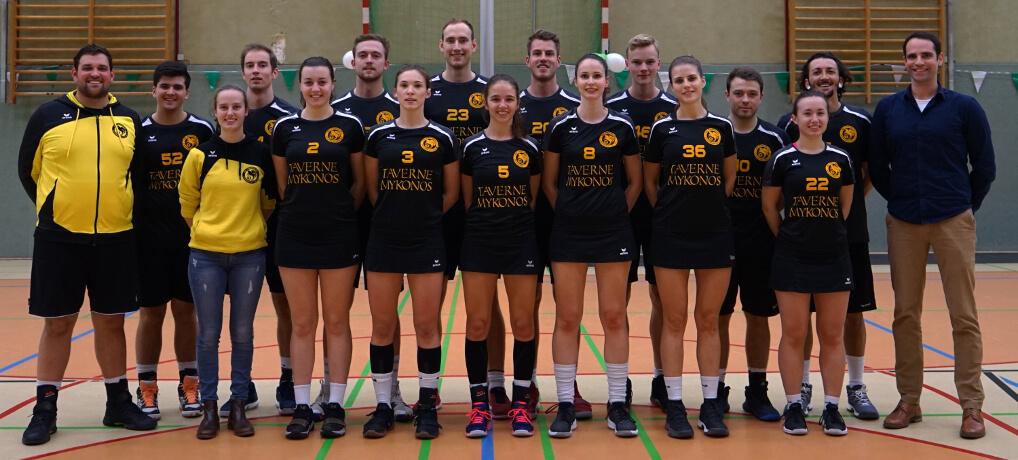 Mannschaftsfoto SG Pegasus Rommerscheid 1991 e.V. S1 in der Saison 2018/2019