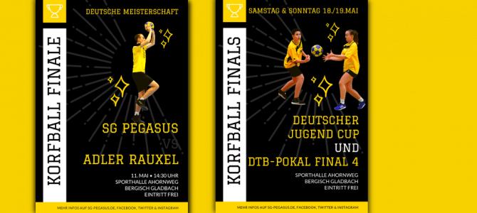 Finalwochen: Meisterschaft, Deutscher Jugend Cup & Aufstiegsspiele