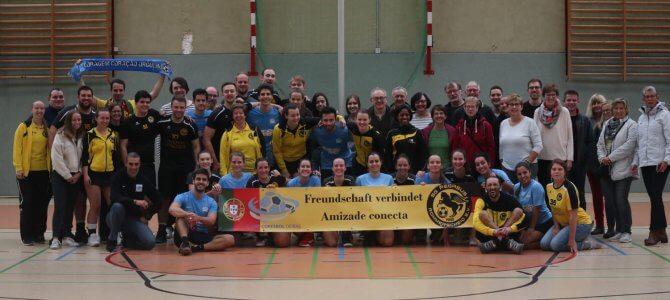 Portugiesischer Besuch und 32 Körbe der C-Jugend