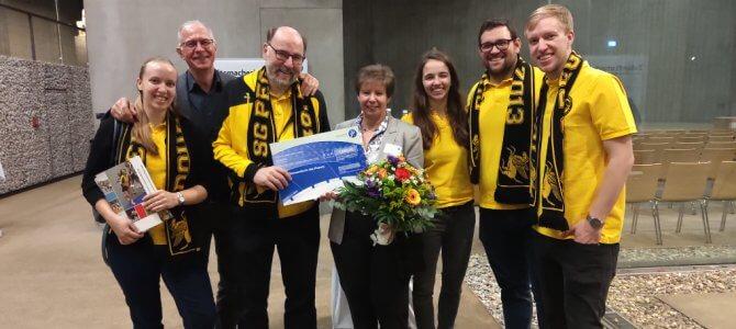Eva Wieseler als Ehrenamtlerin des Monats ausgezeichnet